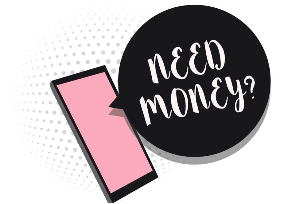 informasi butuh uang