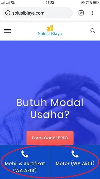 simulasi tabel angsuran gadai bpkb mobil - SolusiBiaya.com